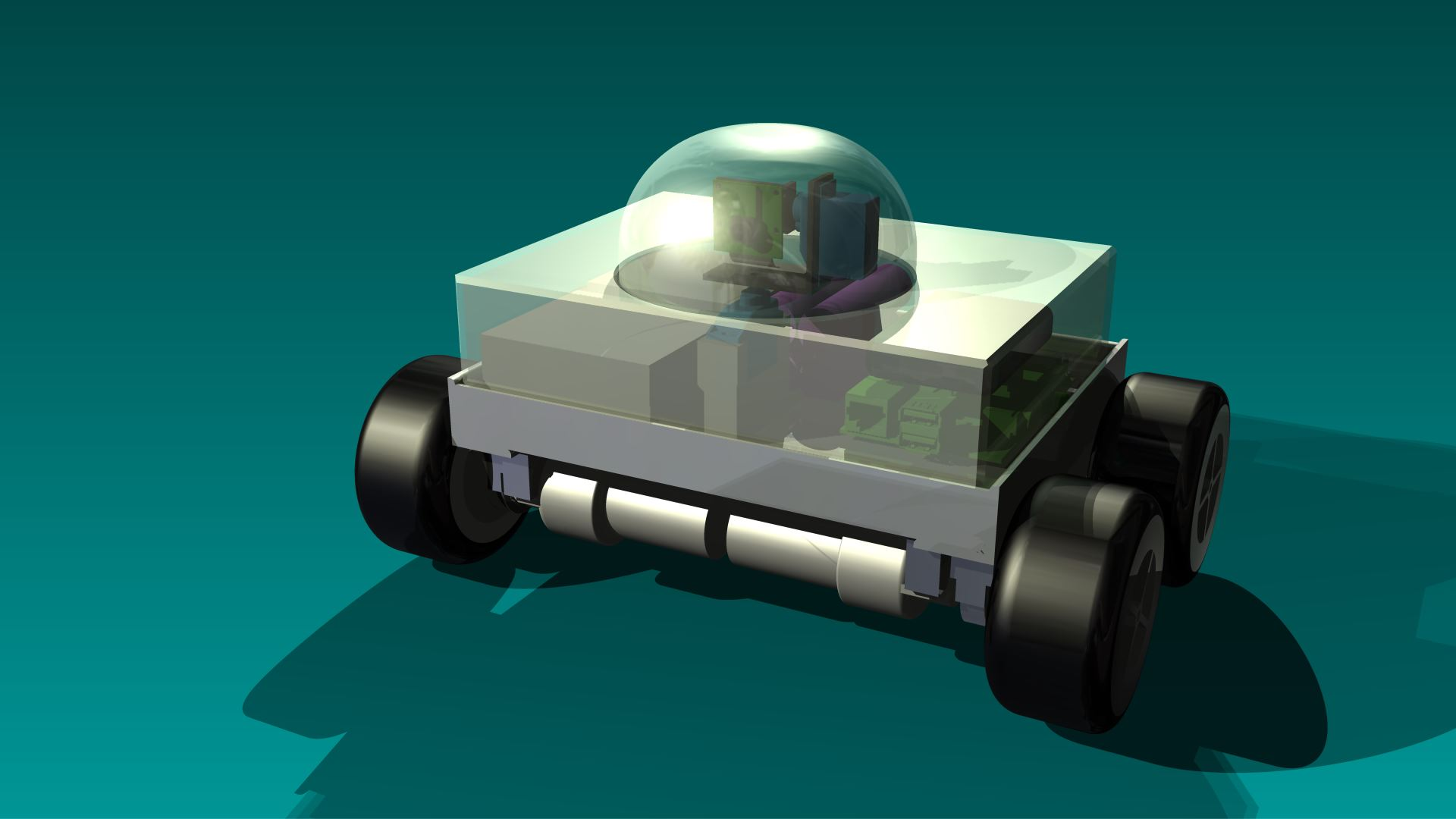 SecuBot - 4x4 s krytom
